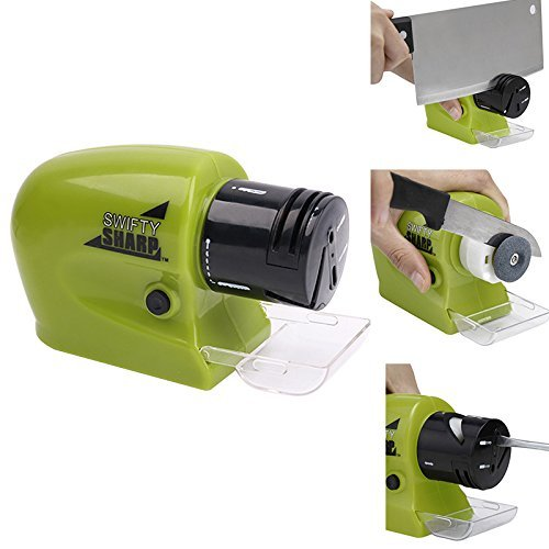 Multi-functional Kitchen Electric Knife Sharpener Multi-Function Home Kitchen Tool ElecTric Grinding Electric Sharpener for Kitchen KnifescissorsFruit knife