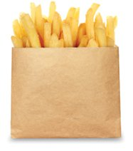 EcoCraft French Fry Bag 4 12 X 3 12 Case of 2000