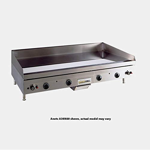 anets a24x60 goldengrill 60 gas countertop grill