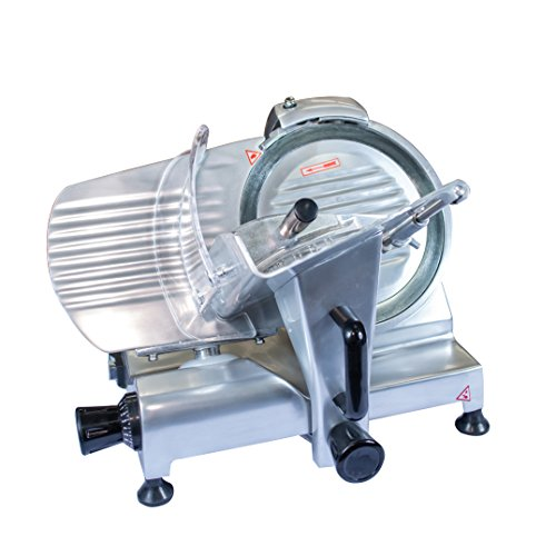 Chicago Food Machinery cfm-10 Deli Meat Slicer Stainless Steel 10