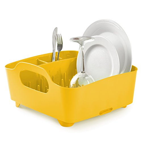 Umbra Tub Dish Rack Canary Yellow