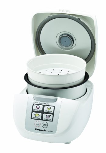 Panasonic SR-DF101 5-Cup Uncooked One-Touch Fuzzy Logic Rice Cooker