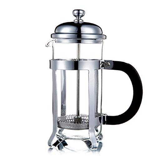 Coffee press Coffee Maker Home French Press Coffee Filter Press Glass Filter Cup Multifunctional French Press Pot Safe and Easy to Clean Color  Black Size  350ml