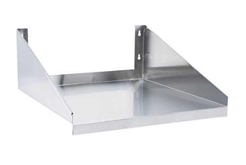 24 x 18 Stainless Steel Microwave Shelf 24 x 18 inches