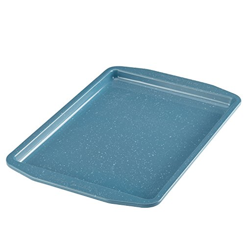 Paula Deen Nonstick Bakeware Cookie Pan 10 x 15 Gulf Blue Speckle