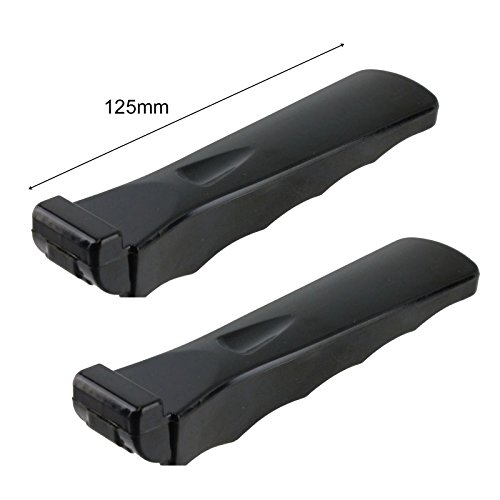 Spares2go Moulded Grip Detachable Handle For Nardi Oven Cooker Grill Pan Pack of 2