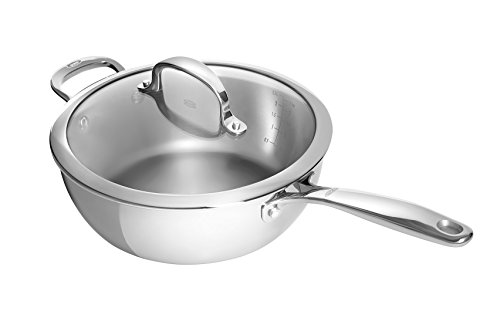 Oxo Good Grips Tri-ply Stainless Steel Pro 3.5qt Covered Saucepan