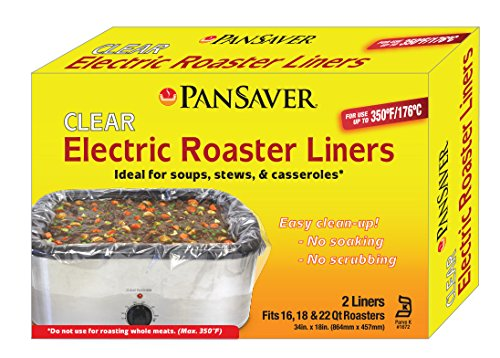 PanSaver Electric Roaster Liners  1-pack 2 units