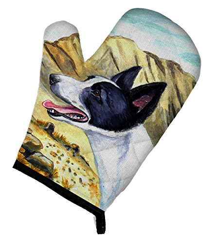 Carolines Treasures 7018OVMT Canaan Dog Oven Mitt 12 by 85 Multicolor