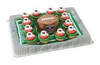 Arizona Cardinals Cupcake Platter