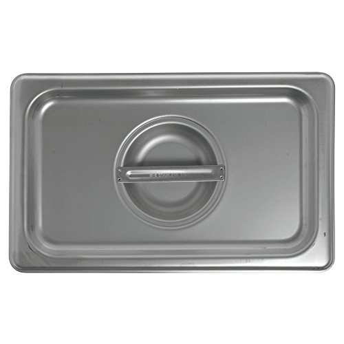 HUBERT 14 Size Steam Table Pan Cover 24 Gauge Stainless Steel Solid
