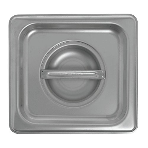 HUBERT Steam Table Pan Cover For 16 Size Pans 24 Gauge Stainless Steel
