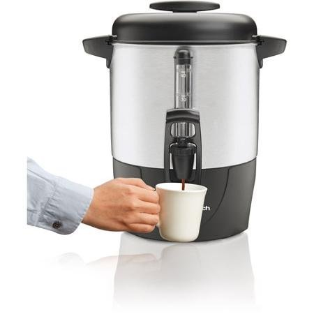 Hamilton Beach 40-Cup Dispensing Coffee Urn 40514 Black and Silver by SuperFood by SuperFood