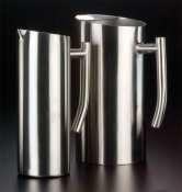 American Metalcraft Small Satin Finish Contemporary Stainless Steel Water Pitcher 338 Ounce -- 1 each