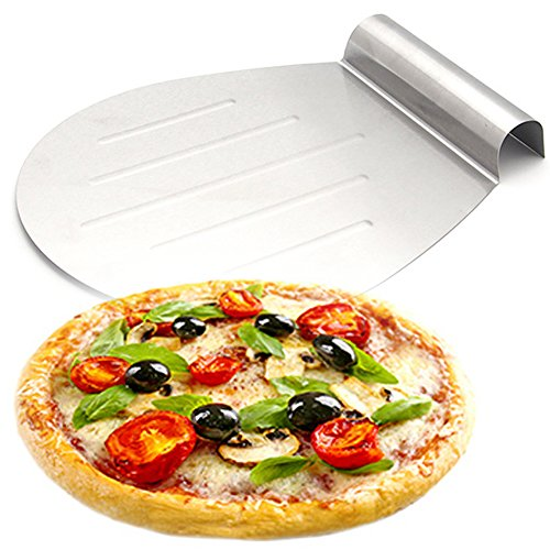 Stainless Steel Pizza Peel - 125 x 102 inch Pizza Shovel