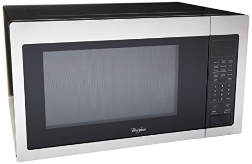 Whirlpool WMC30516AS 16 Cu Ft Stainless Steel Countertop Microwave