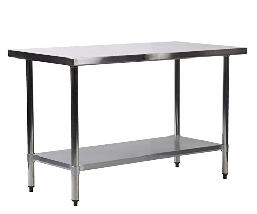 24 x 72 Stainless Steel Kitchen Work Table Commercial Kitchen Restaurant