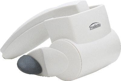 Trudeau 099690 Rotary Cheese Grater with Stainless Steel Drum White