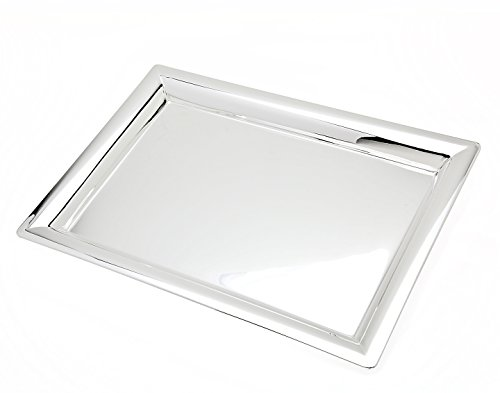 Godinger 11 in x 16 in Rectangular Tray