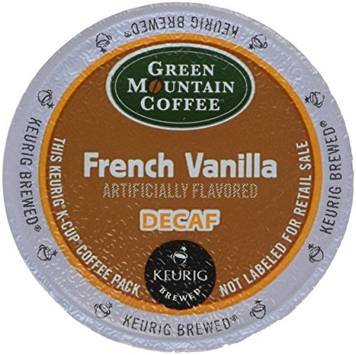 Green Mountain Coffee French Vanilla Decaf K-Cup Portion Pack for Keurig K-Cup Brewers Pack of 48  Pacakaging may vary