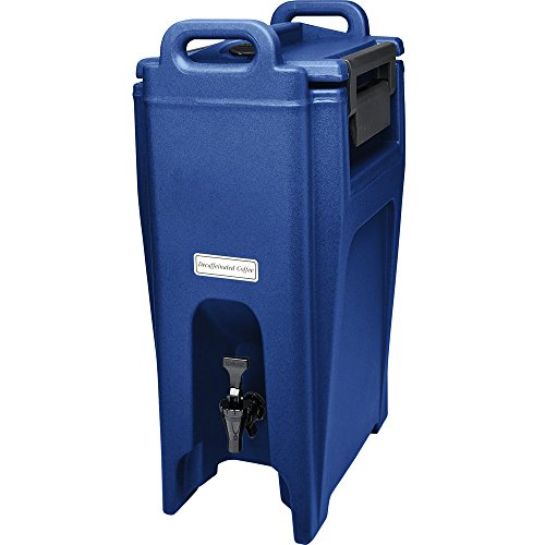 Cambro UC500186 Navy Blue Ultra Camtainer 525 Gallon Insulated Beverage Dispenser