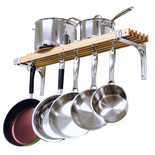Cooks Standard Wall Mount Pot Rack 36 by 8-Inch