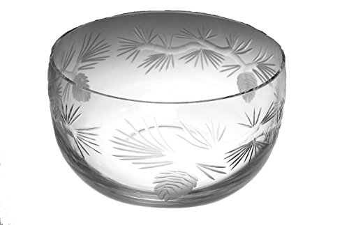 Icy Pine Small Glass Bowl 6