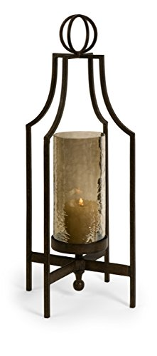 IMAX 20053 Cool and Gothic Bauer Iron Candleholder