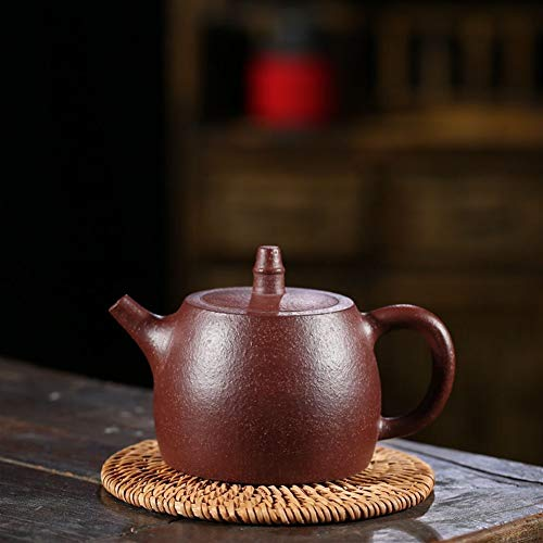 Teapots Chinese Teapot Ore Fine Sand Drop-teapot MDYHJDHYQ Color  Jiuli cinnabar