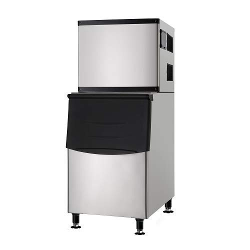 Adcraft LIIM-500 Lunar Ice Commercial Ice Maker and Ice Bin 500-PoundsDay Stainless Steel 110v