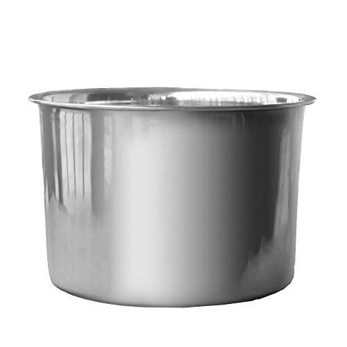 ufengke Stainless Steel Ice Bucket Ice Brick Mold Beer Chiller Wine Champagne Cooler
